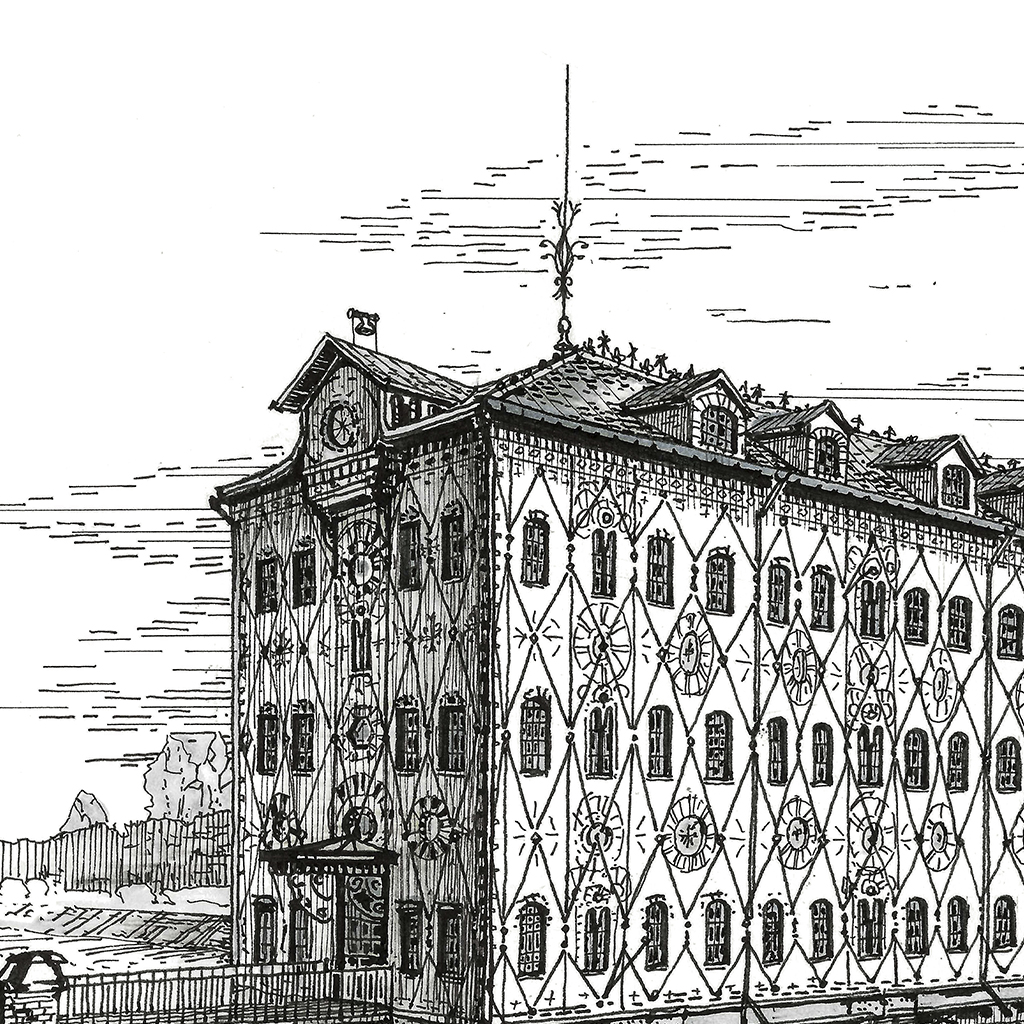 Chocolat Menier Factory д-1