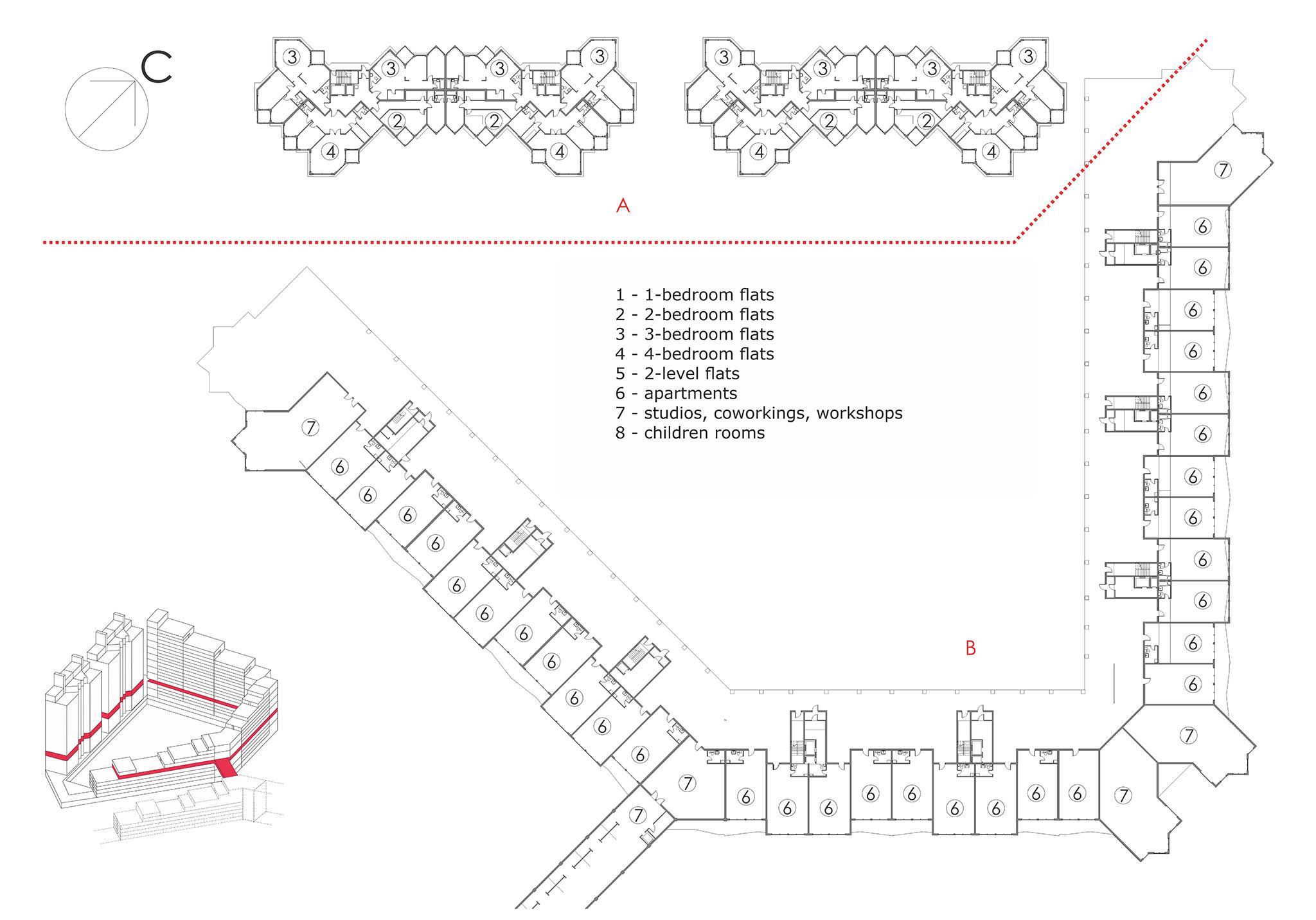 жилой комплекс архитектура проект