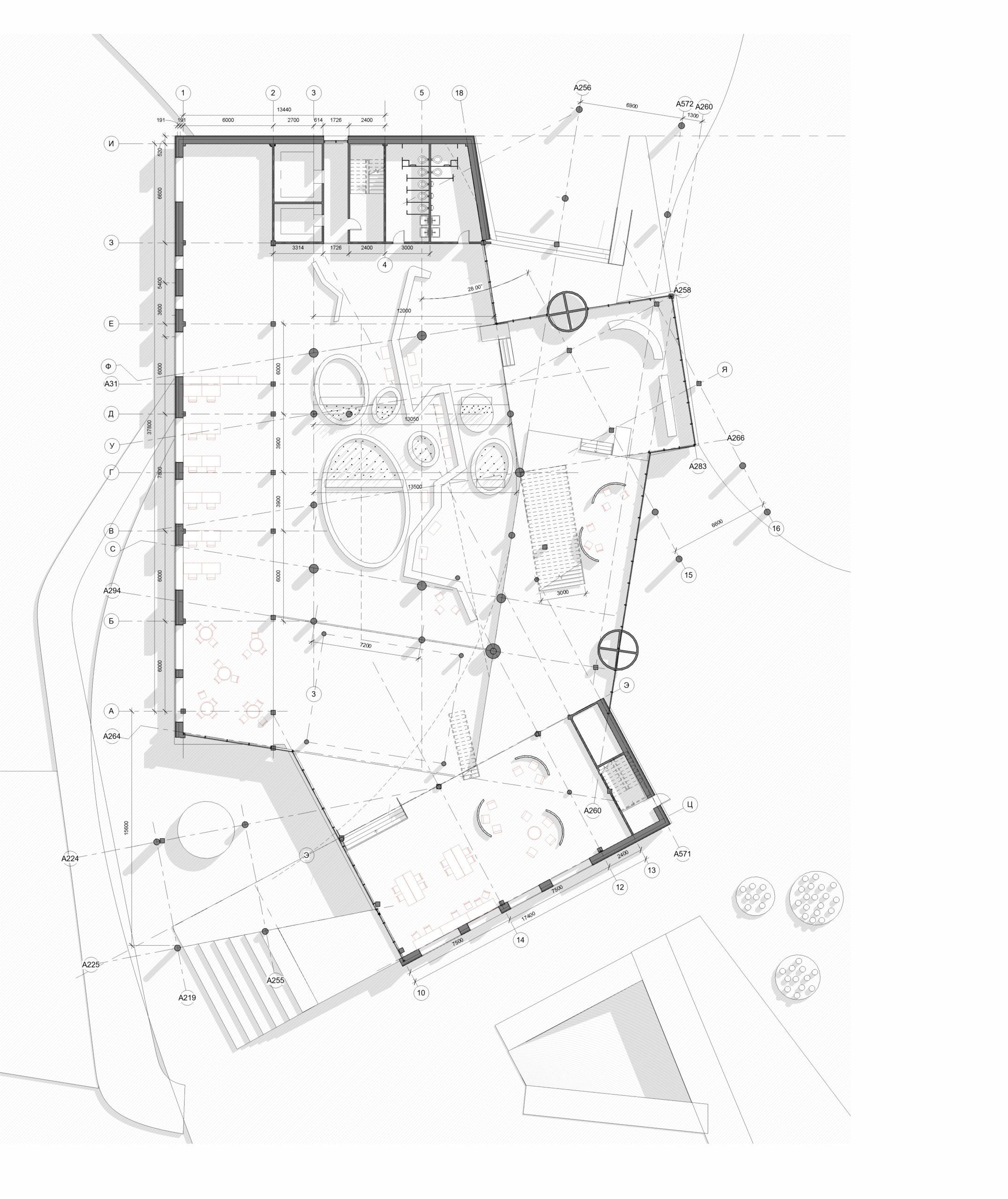проект архитектура гидрологический кластер