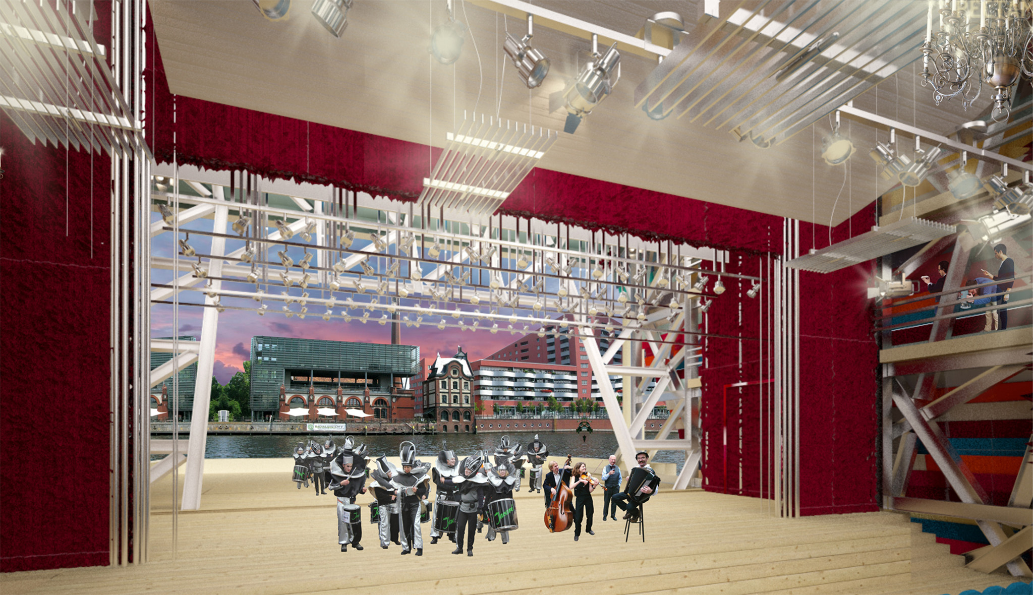 проект архитектура театр в берлине