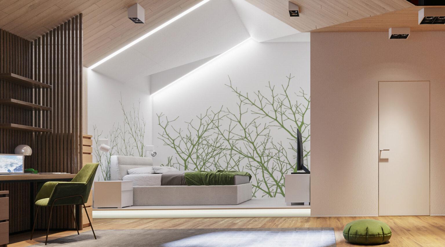 Энергоэффективный дом, автономный дом, пассивный дом, архитектура проект, дизайн проект интерьера