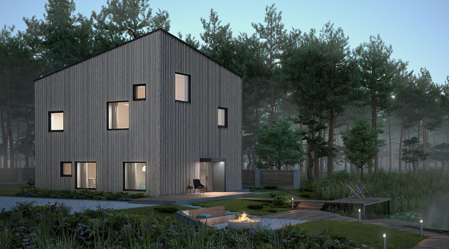 типовой проект энергоэффективного дома купить energy-efficient home